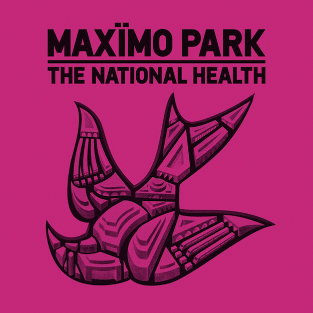 Cover art for The National Health by Maximo Park